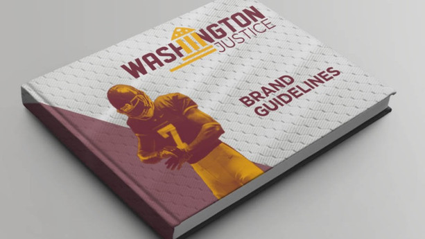 Washington Justice brand guidelines