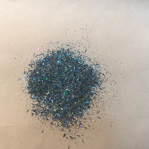 BLUE RAIN-acrylic