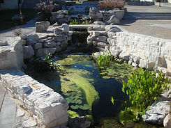 Recirculating Ponds in San Angelo by Art Museum