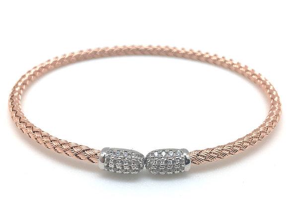 Anna Bella Tip Cuff Bracelet Rose