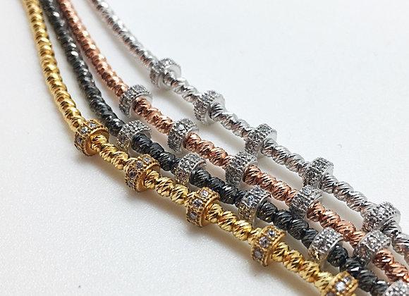 Briolette Bracelet Platinum