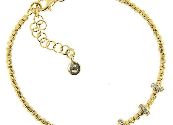 Briolette Bracelet Gold