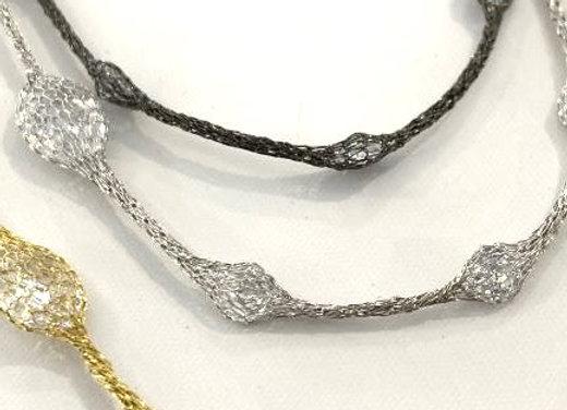 Selene Collar Necklace Gold