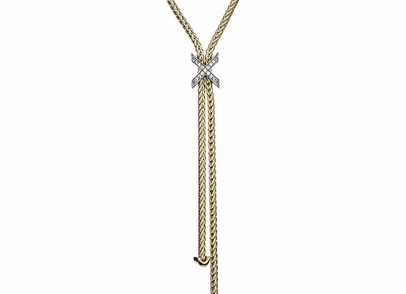 Lasso CZ Fashion Necklace