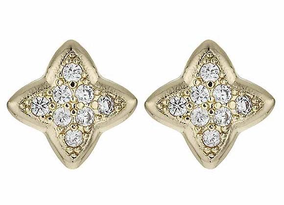 Star CZ Fashion Earrings