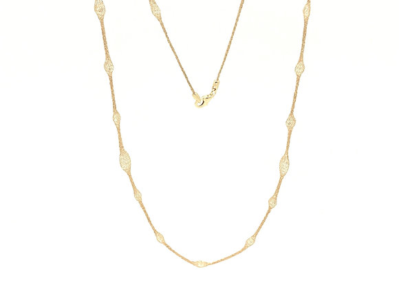 "Selene 36"" Necklace Gold"