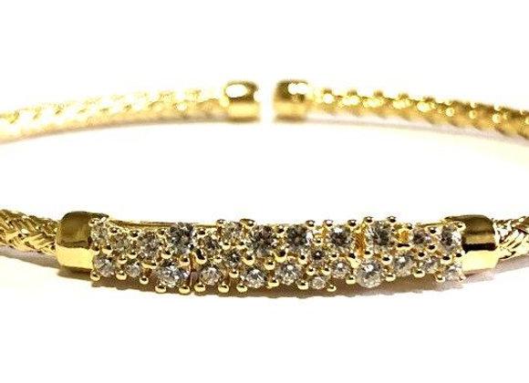 Anna Bella Prong Set CZ Bracelet
