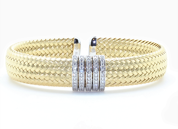 Anna Bella Wide Cuff Bracelet
