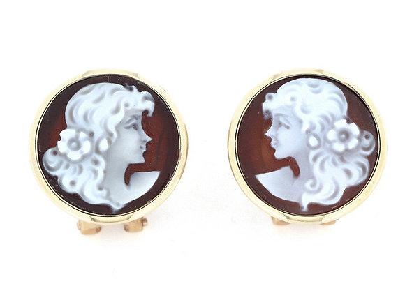 Amalfi Cameo Earrings