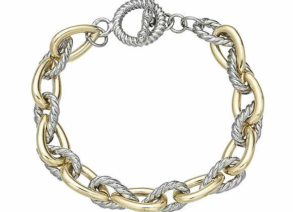 Fashion Two Tone Bracelet
