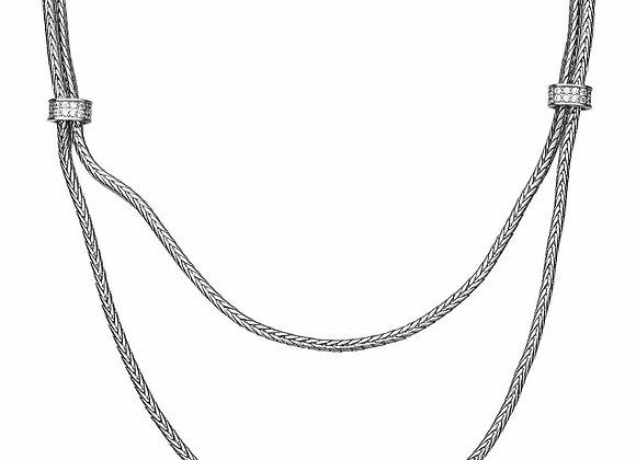 Double Strand Fashion Necklace