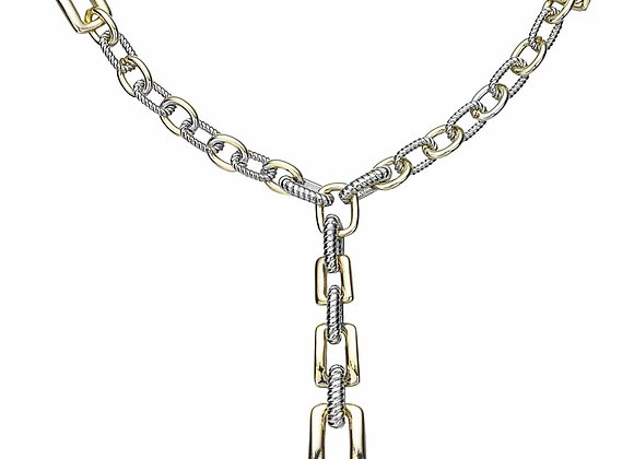 Drop Chainlink Fashion Necklace