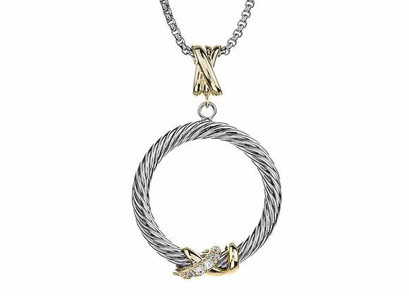 Loop Pendant Fashion Necklace