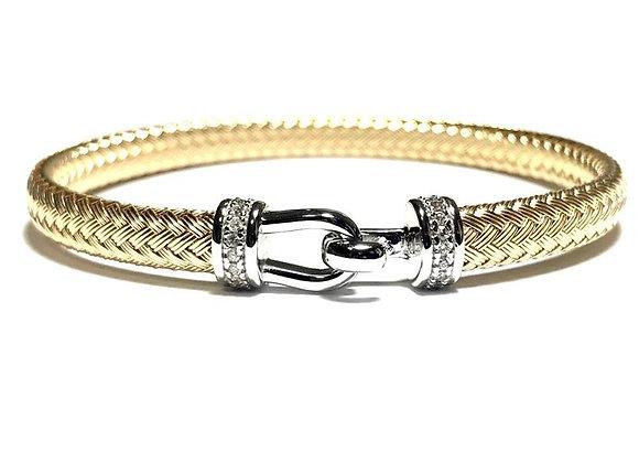 Anna Bella Hook Bracelet w/CZ