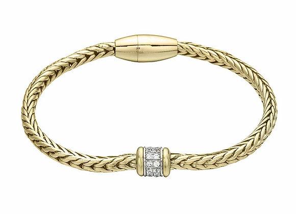 Palma CZ Bracelet Gold