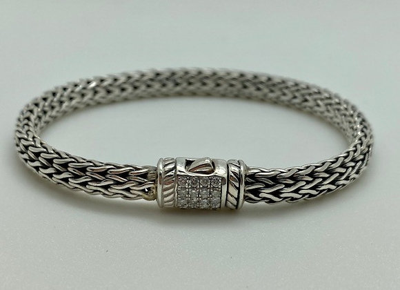 Bali Bracelet with CZ's