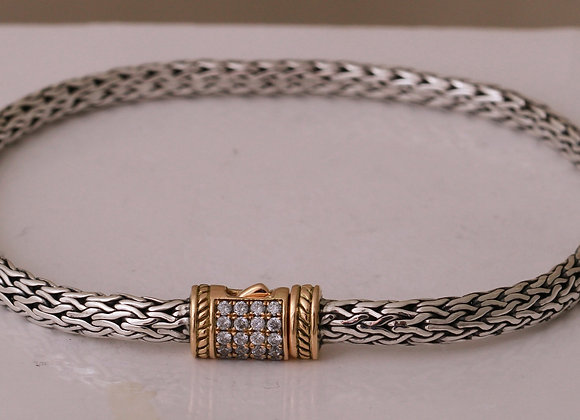 Bali Bracelet 18K Clasp