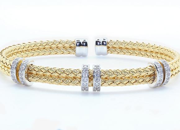 Anna Bella Double Double CZ Bracelet