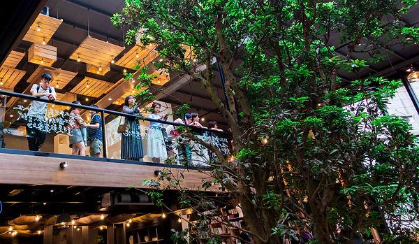 去年為期九個月「會消失的書店」:和平青鳥,為挑高兩層樓的複合書店.JPG
