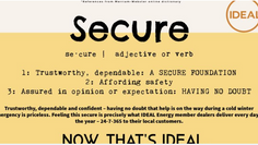 IDEAL Defined: Secure