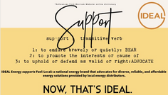 IDEAL Defined: Support