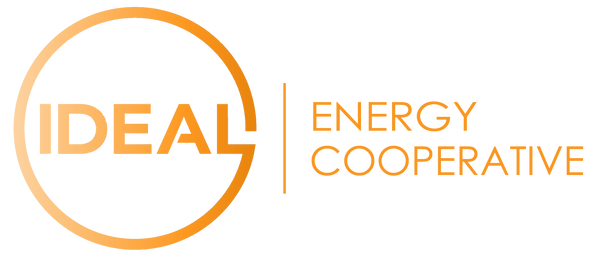 IDEAL Energy Cooperative logo gold