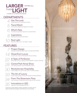 Larger Than Light magazine table of contents