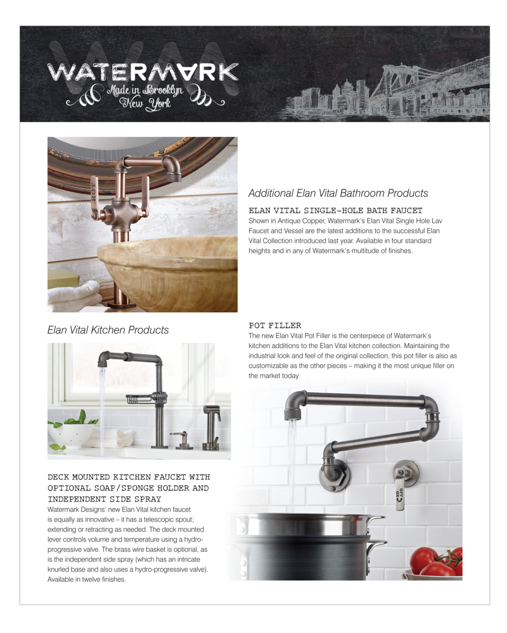 Watermark editorial ad