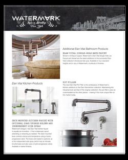 Watermark editorial ad