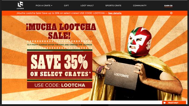 Mucha Lootcha Campaign