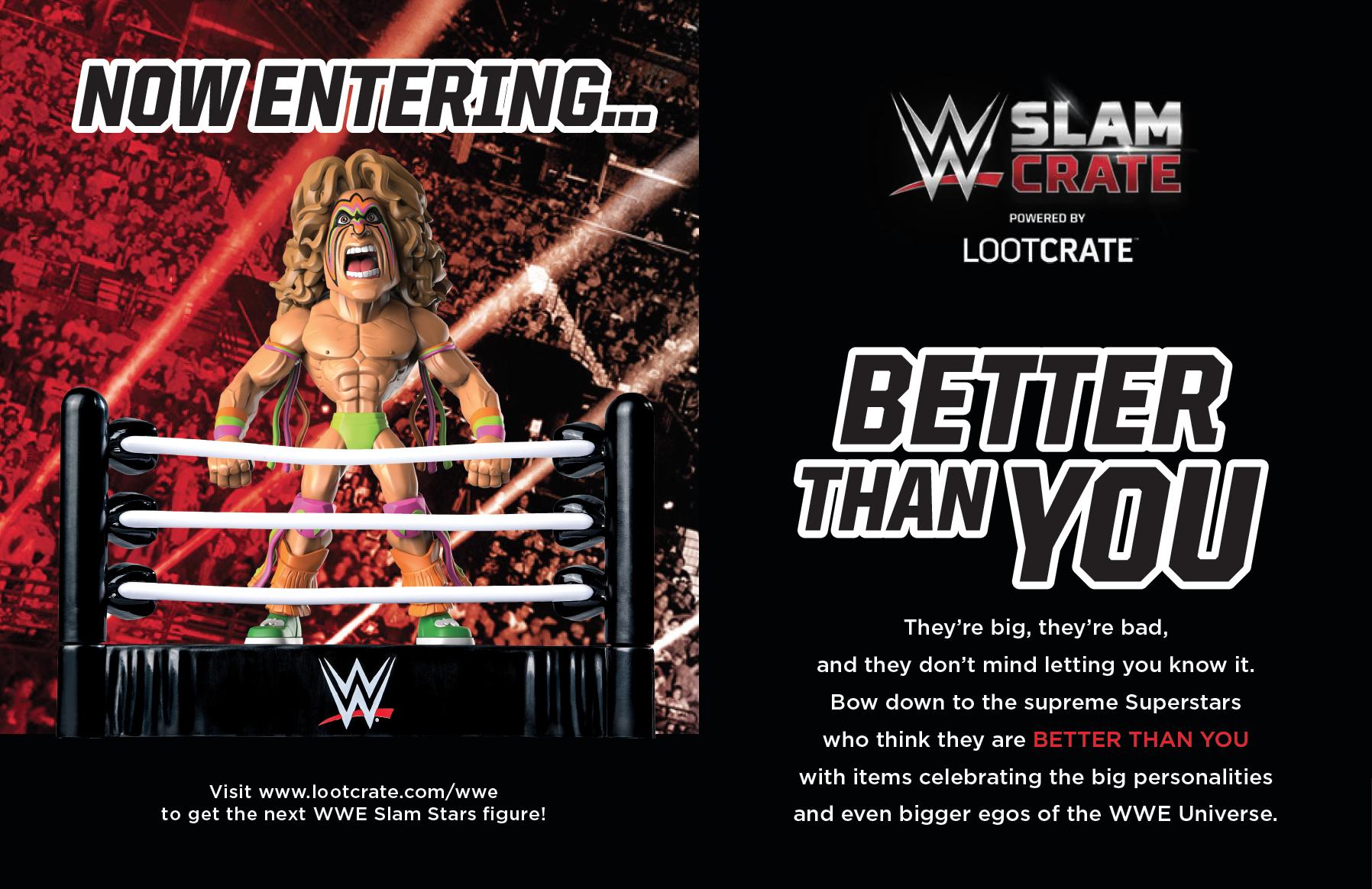WWE Slam Crate insert