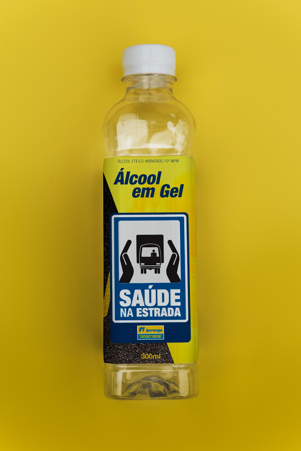 Rótulo Alcool Gel