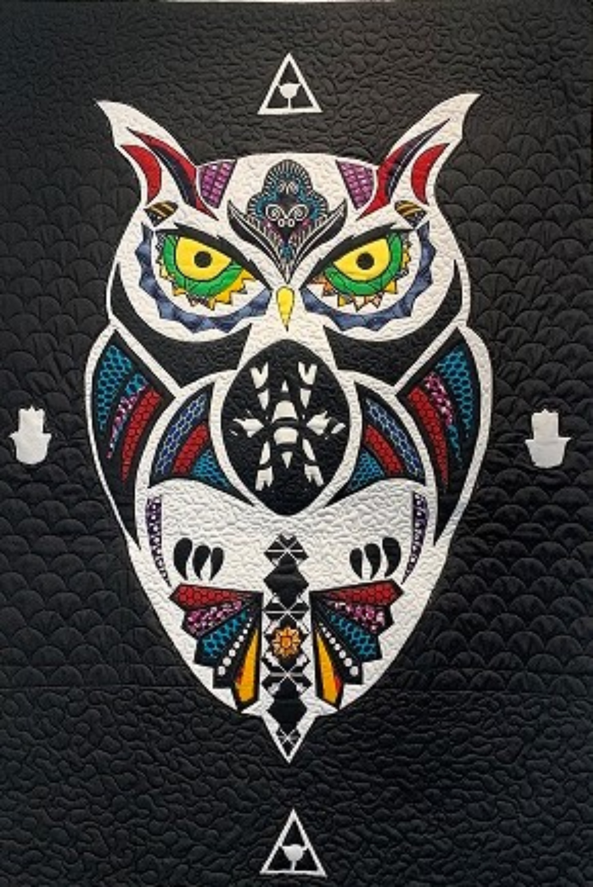 The Owl (Black and White)