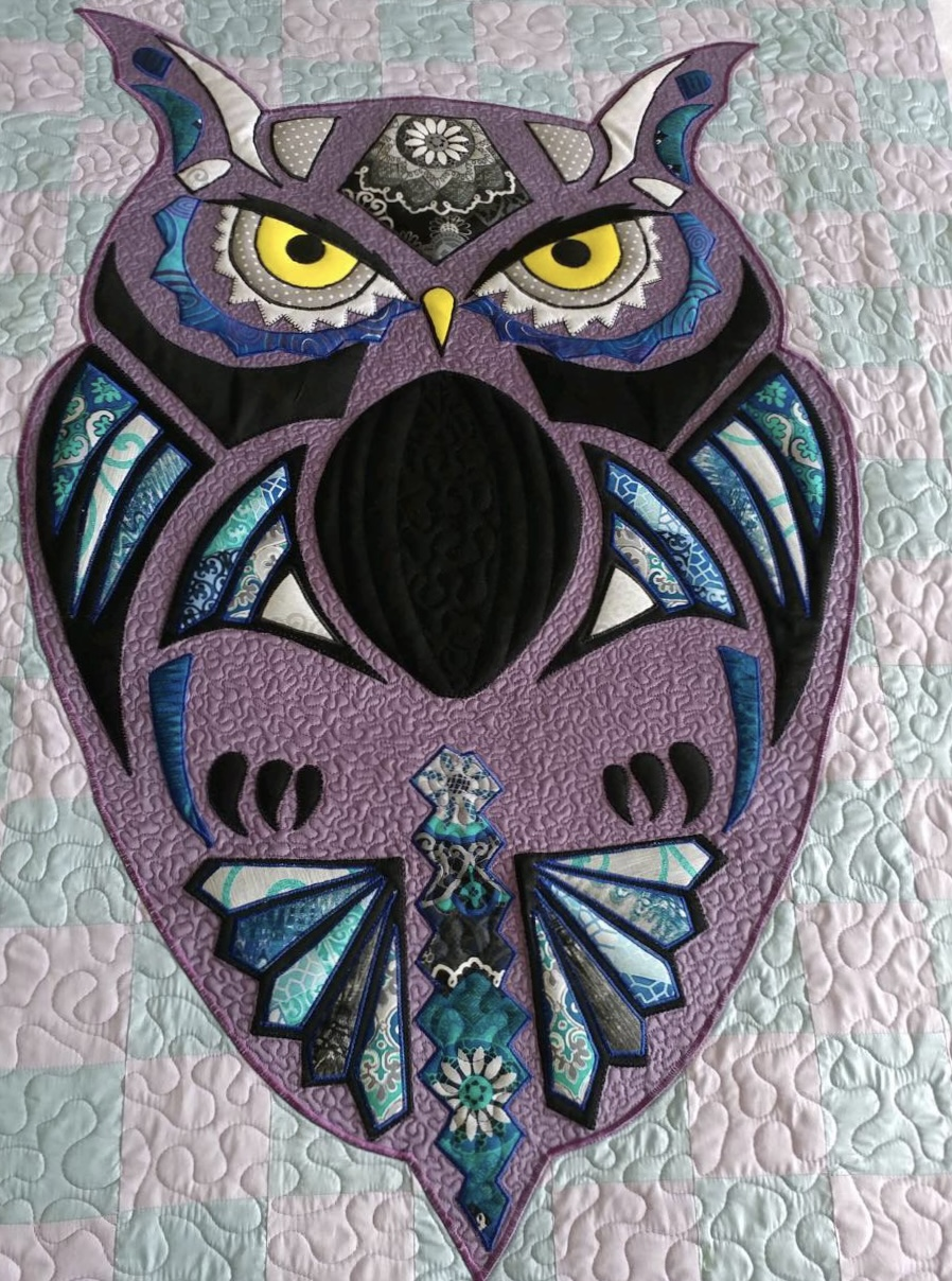 The Owl (Lavendar)