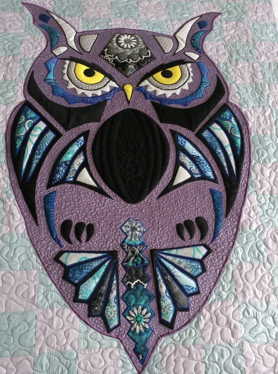 The Owl (Lavendar)