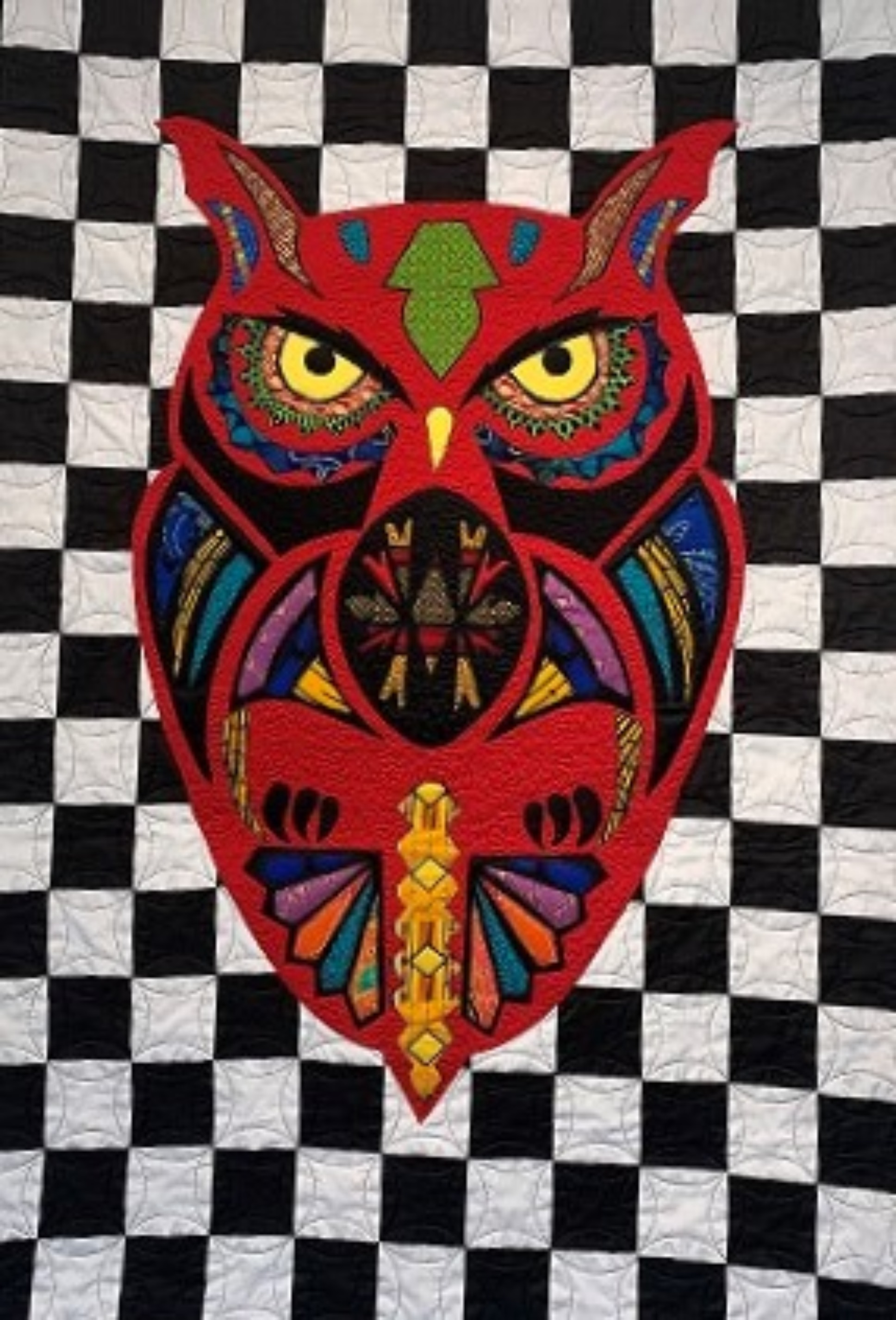 The Owl (Red)
