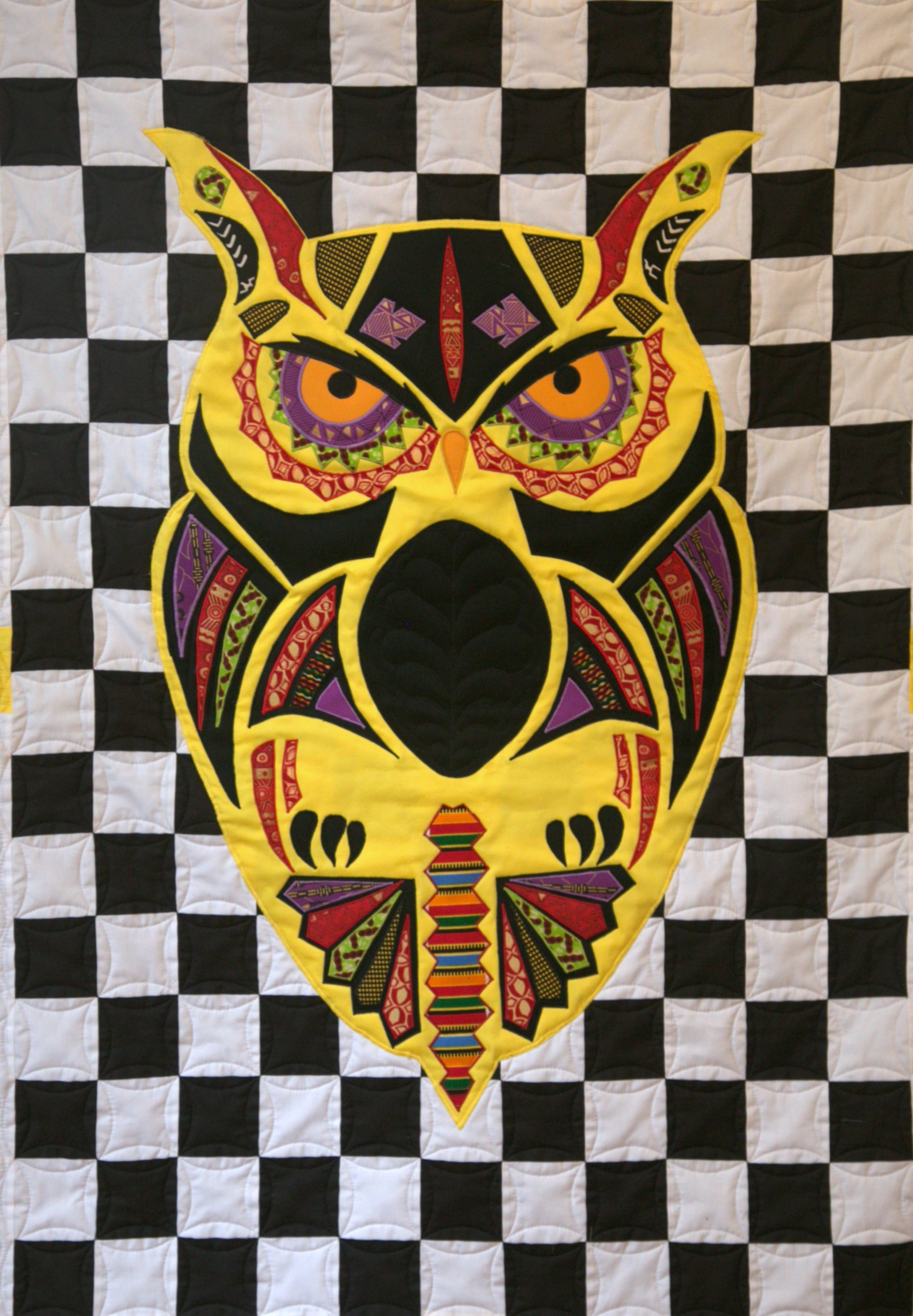 The Owl (Yellow)