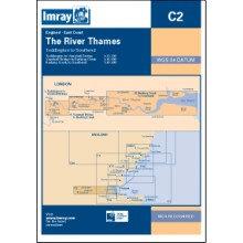 CARTE IMRAY C2 ANGLETERRE: THE RIVER THAMES / LA TAMISE