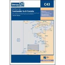 CARTE IMRAY C43 ESPAGNE NORD: SANTANDER À LA COROGNE