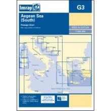 CARTE IMRAY G3 GRÈCE: AEGEAN SEA SOUTH / MER EGÉE PARTIE SUD