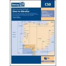 CARTE IMRAY C50 PORTUGAL/ESPAGNE: SINES TO GIBRALTAR