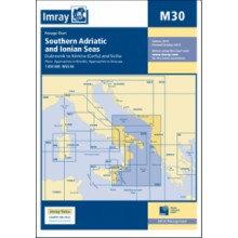 CARTE IMRAY M30 SOUTHERN ADRIATIC & IONIAN SEAS / ADRIATIQUE SUD ET MER IONIENNE