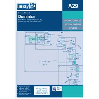 CARTE IMRAY A29 DOMINICA / LA DOMINIQUE