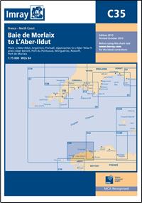 CARTE IMRAY C35 BAIE DE MORLAIX TO L'ABER-ILDUT