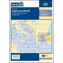 CARTE IMRAY G2 GRÈCE: AEGEAN SEA NORTH / MER EGÉE PARTIE NORD