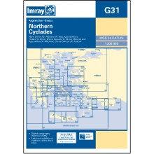 CARTE IMRAY G31 GRÈCE: NORTHERN CYCLADES