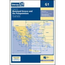 CARTE IMRAY G1 GRÈCE: MAINLAND GREECE AND THE PELOPONNISOS / MER IONIENNE ET PÉL