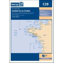 CARTE IMRAY C39 BRETAGNE SUD: LORIENT TO LE CROISIC