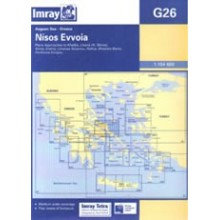 CARTE IMRAY G26 GRÈCE: NISOS EVVOIA