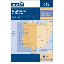 CARTE IMRAY C19 CABO FINISTERRE TO GIBRALTAR